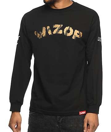 Cookies x Wizop Tiger Wizop Black Long Sleeve T-Shirt