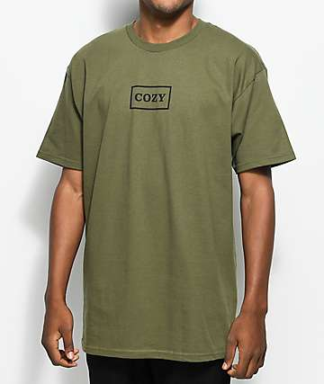 Cozy OG Box Olive T-Shirt