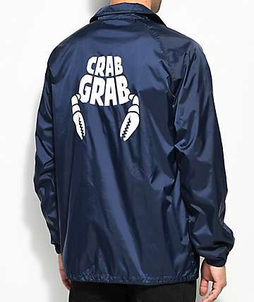 Crab Grab Blue Coaches Jacket