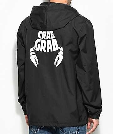 Crab Grab Captains Black Jacket