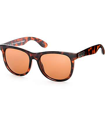 Crap Nudie Mag Glossy Tortoise Polarized Sunglasses