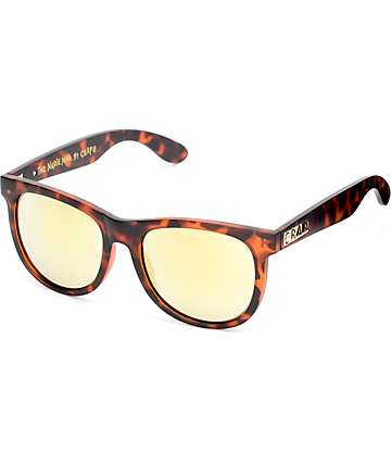 Crap Nudie Mag Matte Tortoise & Gold Sunglasses