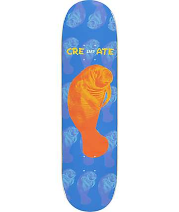 "Create Manatee 8.0"" Skateboard Deck"