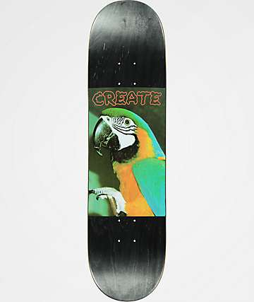 "Create Parrot 8.25"" Skateboard Deck"