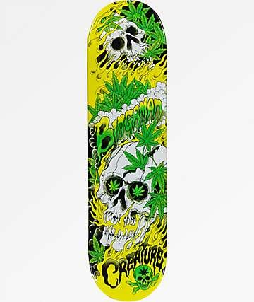 """Creature Bingaman Cannabis 8.37"""" Skateboard Deck"""