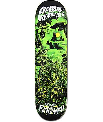 "Creature Bingaman Voodoo Isle 8.3"" Skateboard Deck"