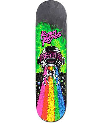 "Creature Reyes Leather Rainbow 8.0"" Skateboard Deck"