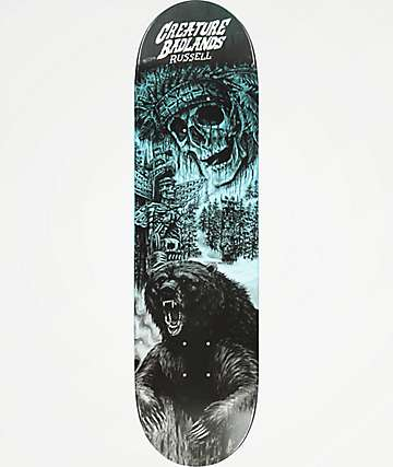"Creature Russel Badlands 8.5"" Skateboard Deck"