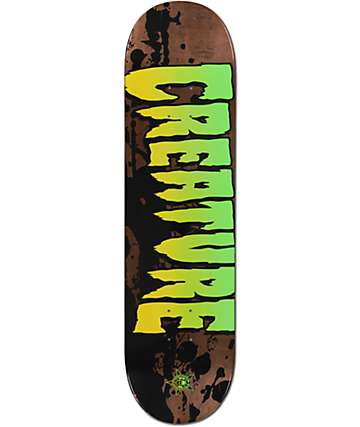 "Creature Stained 8.25"" Skateboard Deck"