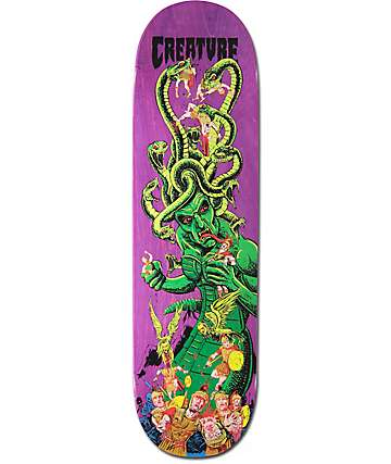 "Creature Stumps Medusa 8.8"" tabla de skate"