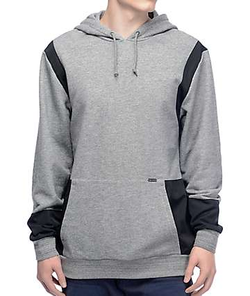 Crooks & Castles Challenger Speckle Grey Pullover Hoodie