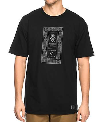 Crooks & Castles Classified camiseta negra