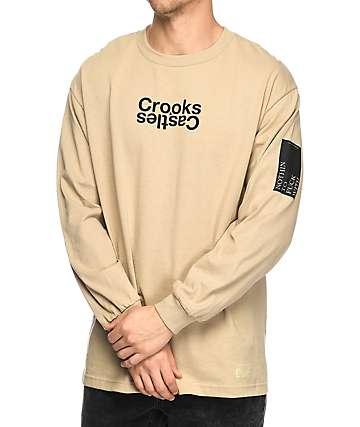 Crooks & Castles Covert Track camiseta de manga larga