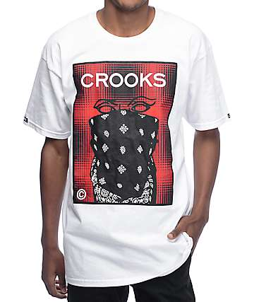 Crooks & Castles Crooksett White T-Shirt