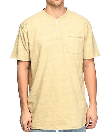 Crooks & Castles Interceptor Henley Pocket T-Shirt