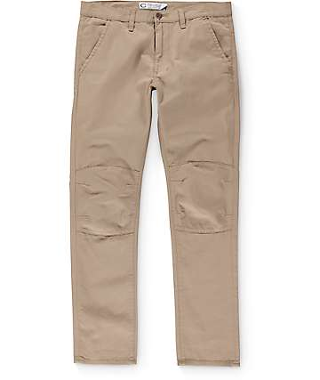 Crooks & Castles Mileage Utility Khaki Pants