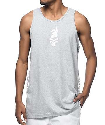 Crooks & Castles Rider camiseta gris sin mangas