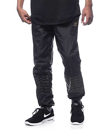 Crooks & Castles Sidewinder Black Track Pants