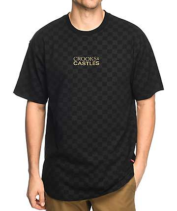 Crooks & Castles Teamster Black T-Shirt
