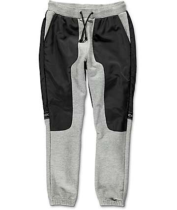 Crooks & Castles Challenger Speckle Grey Sweatpants