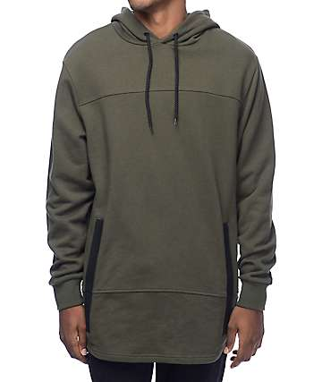 Crooks & Castles Parker Rifle Green Hoodie