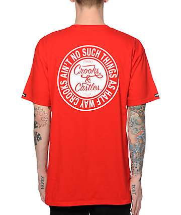 Crooks and Castles Ain't No Such T-Shirt