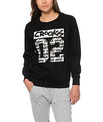 Crooks and Castles All City Crew Neck Sweatshirt