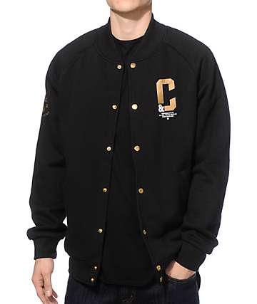 Crooks and Castles All Hail Baseball Jacket