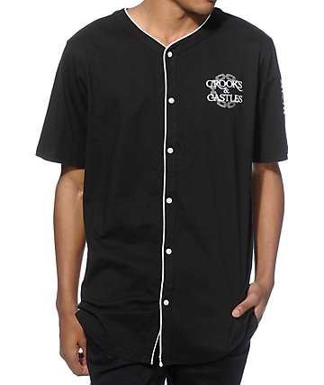 Crooks and Castles Bullpen Baseball Jersey