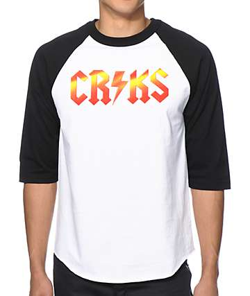 Crooks and Castles C.N.C. Baseball T-Shirt