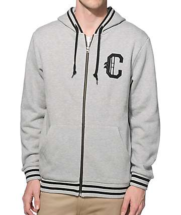 Crooks and Castles Champ Zip Up Hoodie