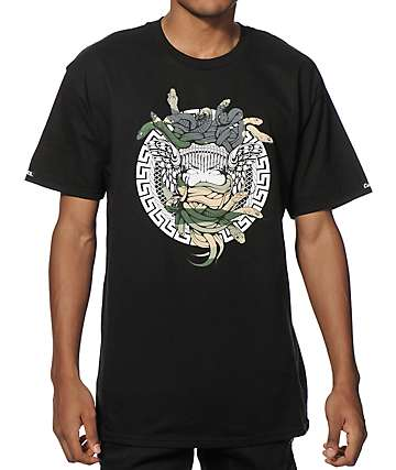 Crooks and Castles Desert Camo Medusa T-Shirt