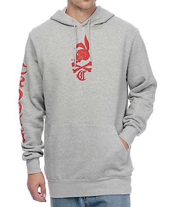 Crooks and Castles Dolomite Grey Hoodie