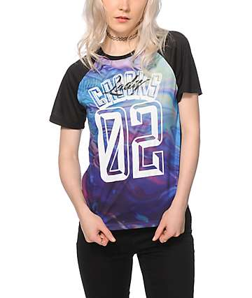 Crooks and Castles Euphoria Sublimated Baseball Tee
