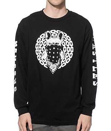 Crooks and Castles French Davis Long Sleeve T-Shirt