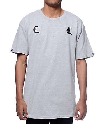 Crooks and Castles Gradients Cs Grey T-Shirt