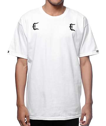 Crooks and Castles Gradients Cs White T-Shirt