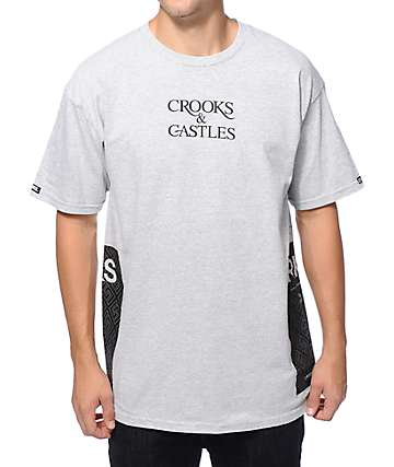 Crooks and Castles Greco Flags T-Shirt