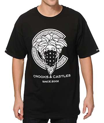 Crooks and Castles Greco Medusa T-Shirt