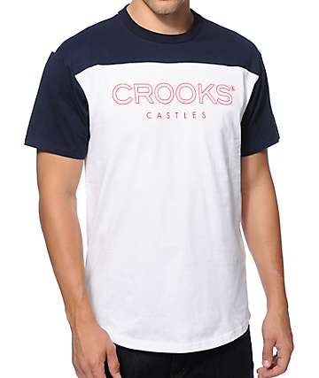 Crooks and Castles Levels Football T-Shirt