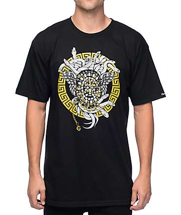 Crooks and Castles Masonic Black T-Shirt