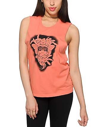 Crooks and Castles Medusa Bomb Muscle Tee