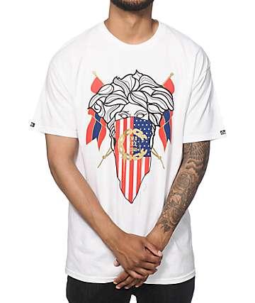 Crooks and Castles Medusa Flag T-Shirt