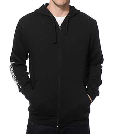 Crooks and Castles Money Bag Mosaic Zip Up Hoodie