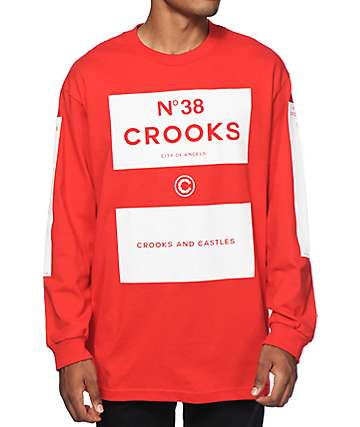 Crooks and Castles No 38 Long Sleeve T-Shirt