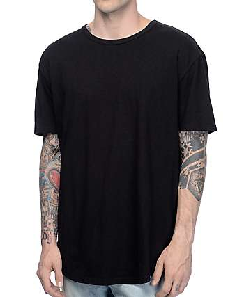 Crooks and Castles Originator Black Drop Tail T-Shirt