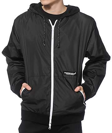 Crooks and Castles Snellen Windbreaker Jacket