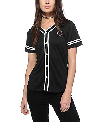 Crooks and Castles Sur Califas Baseball Jersey