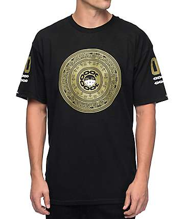 Crooks and Castles Teamster Black T-Shirt