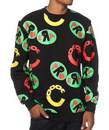 Crooks and Castles x Pro Era Crew Neck Sweatshirt